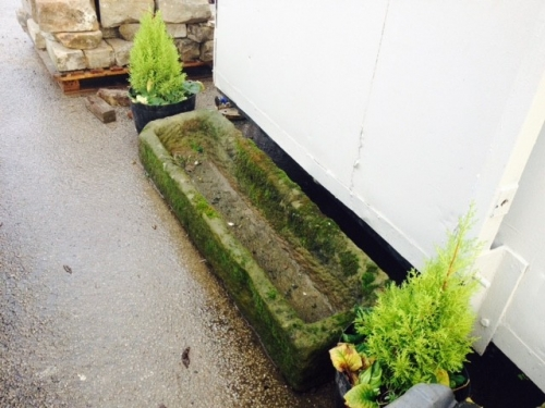 reclaimed stone troughs