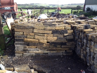 Reclaimed Walling Stone