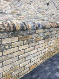 Yorkshire Black Face Tumbled Walling Stone