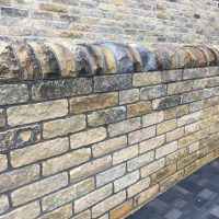 Yorkshire Black Face Tumbled Walling Stone