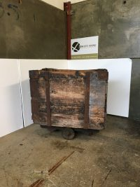 Wooden Box Cart
